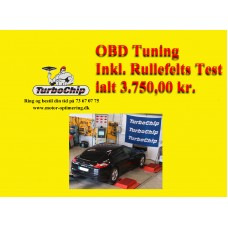 Kampagne OBD Tuning inkl. rullefelts test.