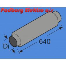 1321734A - Ind/ud-sugnings lyddæmper til Ø90 mm.