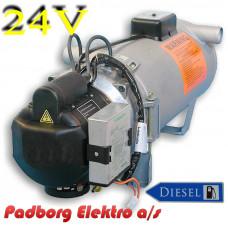 Webasto DBW 2016 Thermo varmer diesel 24 volt 16 kW.