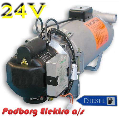 Webasto DBW 2010 Thermo varmer diesel 24 volt 11.6 kW.