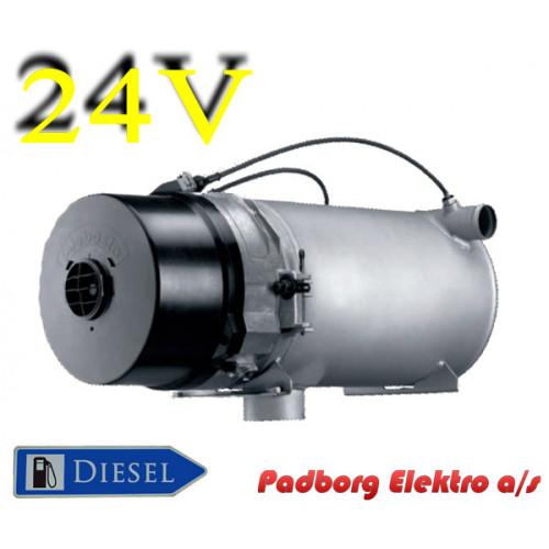 Webasto Thermo 300 vandvarmer diesel 24 volt 30kW.