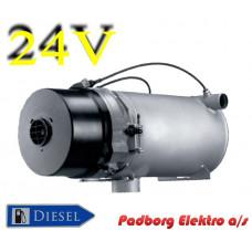 Webasto Thermo 350 vandvarmer diesel 24 volt 35kW.