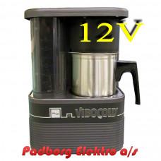 Kaffemaskine Vibocold KM6 En 6-koppers >>Bemærk 12 volt DC<< kaffebrygger.