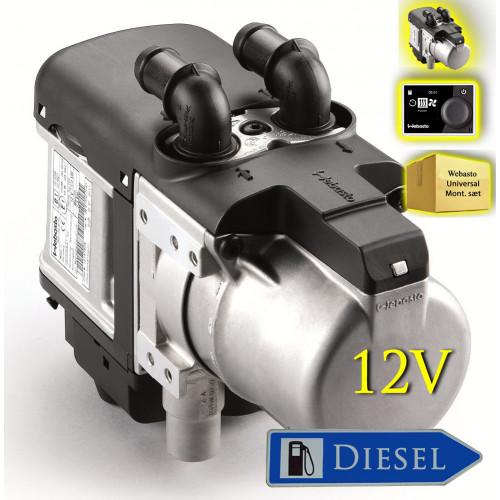 webasto evo 5 diesel 12v bilvarmer komplets t. Black Bedroom Furniture Sets. Home Design Ideas