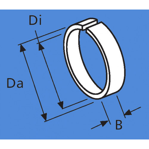1320224A - Afstandsring diameter 55 mm / 60 mm.