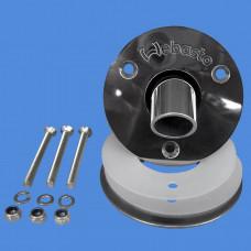 1320364A - Skroggennemføring bøjet rustfrit ø24mm.