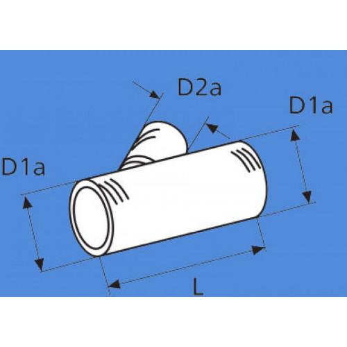 1320472A - Forgreningsstykke 60 mm./60 mm./60 mm.