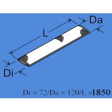 1320830A - Varmebeskyt. slange ø72mm.  L.1.850mm.