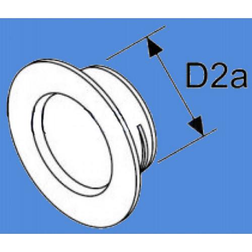1320923A - Væg gennemførelses 60 mm adapter.
