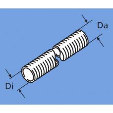 36061299 - Udstød. slange rustfri (1 meter) 24 mm.