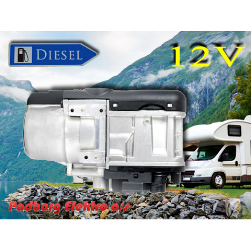 9034942B Webasto Thermo Top Evo 5 Diesel 12volt -  Camping Komfort (med MultiControl)