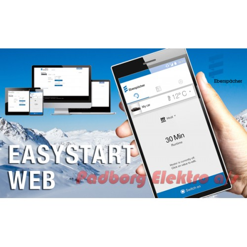 221000345100 - EasyStart WebTP7 betjening mont.sæt