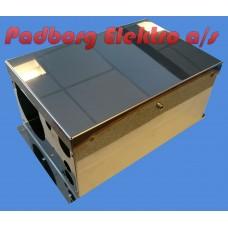 Luftfyrs kasse rustfri ædelstål passer til AIRTRONIC D2, D3, D4 & D4 Plus.