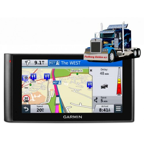 010-01457-10 - Garmin DēzlCam LMT-D Lastbil navigation 6 tommers skærm med kamera og komplet Europa kort.