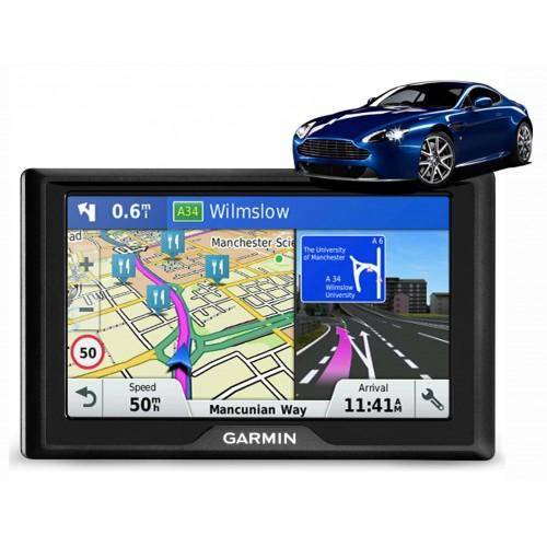 010-01531-10 - Garmin DriveLuxe 50 LMT -D 5 tommers skærm, Komplet Europa, Inkl. Lifetime maps & Digital Traffic.