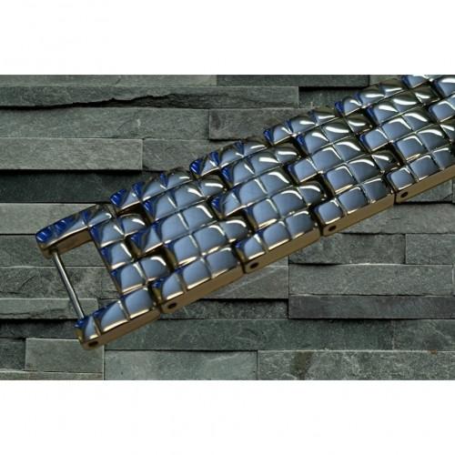 Magnetarmbånd D007 XLT-1222 Sølv