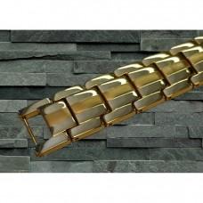 Magnetarmbånd D007 XLT-505 Guld med bronce i midten