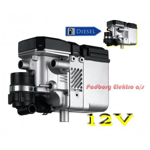 Webasto Thermo Top E benzin 12 volt 4 kw. bilvarmer løst fyr.