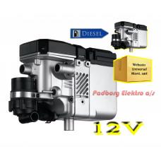 Webasto Thermo Top C diesel 12 volt 5 kw. bilvarmer fyr sæt.
