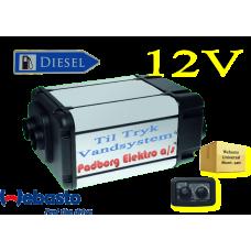Webasto Dual Top Evo 6 integrerede Diesel vand & luft varmer sæt 12 volt 6 kw. Til Camper med TRYK pumpe vandsystemer.