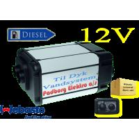 Webasto Dual Top Evo 6 integrerede Diesel vand & luft varmer sæt 12 volt 6 kw. Til Camper med DYK pumpe vandsystemer.