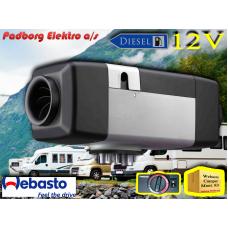 Webasto Air Top Evo 55 D 12volt RV standard - Standard betjeningselement drejeknap