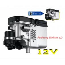 Webasto Thermo Top C diesel 12 volt 5 kw. bilvarmer løst fyr.