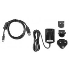 xx-Garmin Nüvi 220v lader. Micro USB, Til serie nüvi 3750, 3760T, 3790T.